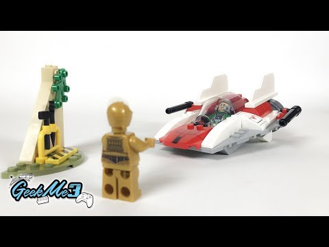 Vidéo LEGO Star Wars 75247 : Chasseur stellaire rebelle A-Wing