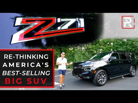 The 2021 Chevy Tahoe Z71 is a Reimagined Big American Family SUV