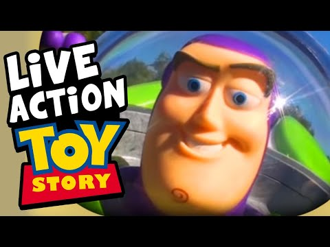 Toy Story Buzz Lightyear Commercial Re-enactment