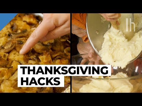 5 Tricks for the Best Thanksgiving Stuffing and Potatoes