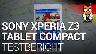 Sony Xperia Z3 Tablet Compact Test [deutsch]