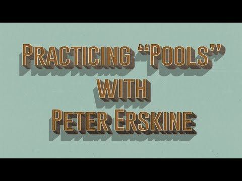 "Practicing ""Pools"" with Peter Erskine"