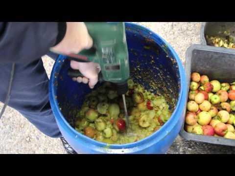Apfelmaische anfertigen Teil 1