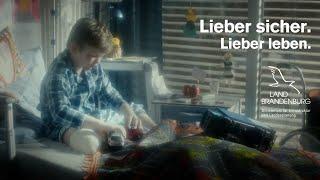 Video Film Hinterm Steuer - Lieber sicher. Lieber leben.