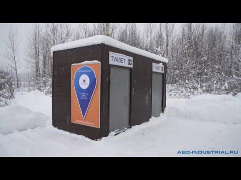 """Туалетные модули """"Дублин"""" на АЗС """"Роснефть"""""""