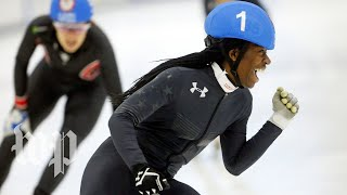 Being Maame: This is how the youngest U.S. Olympics speed skater prepares to win