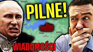 Rosja ZNISZCZY Europę! UZBROJONA ARMIA czeka na ROZKAZY