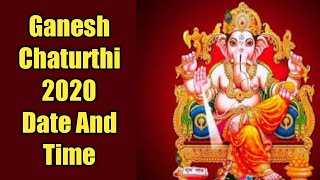 गणेश चतुर्थी 2020 तारीख और समय।। Ganesh Chaturthi 2020 Date And Time| Indian Festivals| Jay Chetwani - Download this Video in MP3, M4A, WEBM, MP4, 3GP