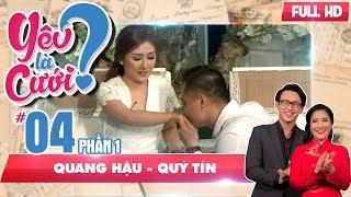 Mối tình 8 năm bị rạn nứt qua lời kể bức xúc của cô gái   Quang Hậu - Quý Tín   YLC #4 💔