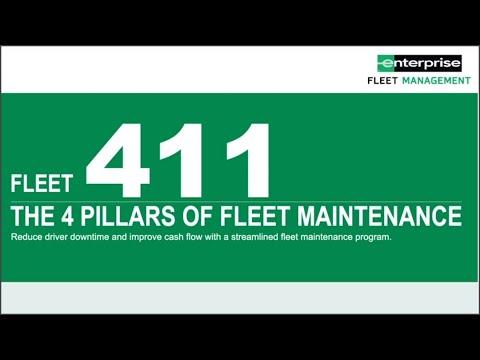 Webinar: Fleet 411: The 4 Pillars of Fleet Maintenance