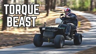 Built 420cc Golf Cart Build Pt. 3 | First Ride!