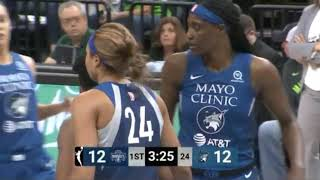 Mystics vs Lynx 8-16-19