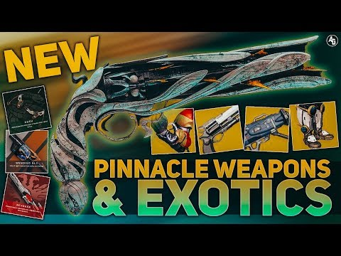 Destiny 2 EVERY Exotic & NEW Pinnacle Weapons (Season of Opulence Breakdown)