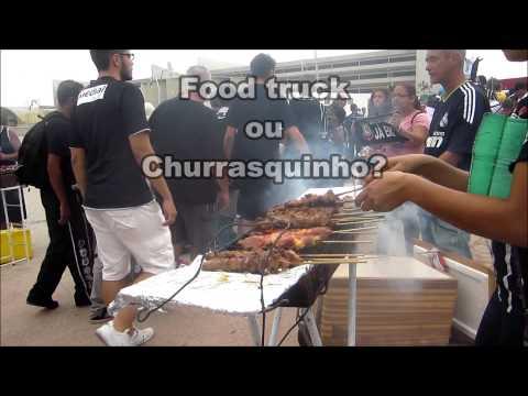 Já viu a novidade do lado de fora da Arena Corinthians? Food Trucks