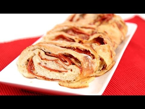 Homemade Pepperoni Bread Recipe – Laura Vitale – Laura in the Kitchen Episode 723