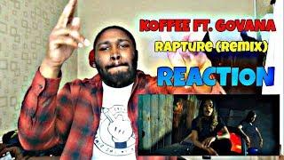 Koffee   Rapture (Remix) Ft. Govana REACTION!!!
