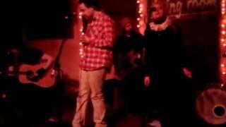 "Pal Shazar & Jules Shear performing ""Black is White"""