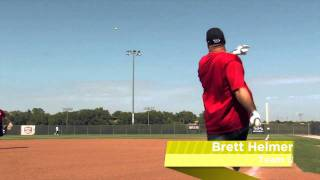 Brett Helmer Shows Off the Easton Synergy Tri-Zone Slow Pitch Bat: SCN18 - JustBats.com!