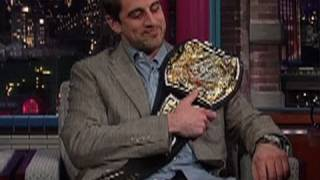 Super Bowl MVP Aaron Rodgers Receives The WWE Championship
