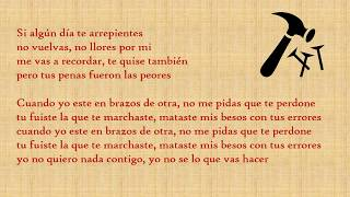 EL CLAVO MR BLACK LETRA  #MRBLACK #TENDENCIAS #ELCLAVO