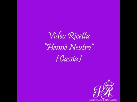 VIDEO RICETTA – HENNE' NEUTRO