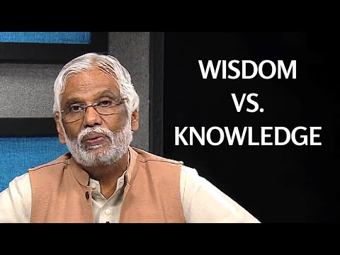 Wisdom vs Knowledge: Ultimate Teachings