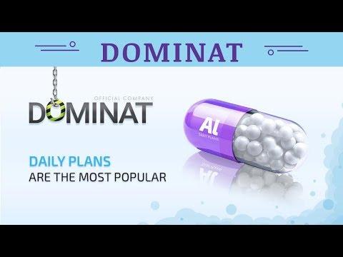 Dominat.company отзывы 2019, mmgp, инвестиции, ЛИНЕЙКА ПЛАНОВ ALUMINIUM 7 10% в сутки