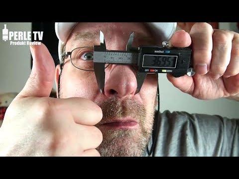 10€ Messschieber/Caliper digital (Schieblehre), 150mm mit Datenport aus gehärteten Stahl