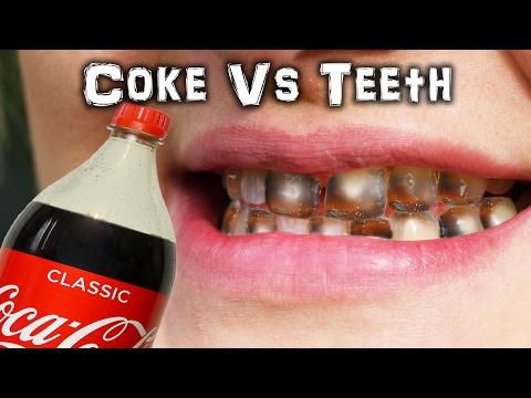 Tannen lå én måned i cola
