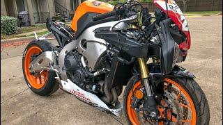 Rebuilding A Crashed Honda CBR 1000RR Repsol Edition - Custom Project Pt 4