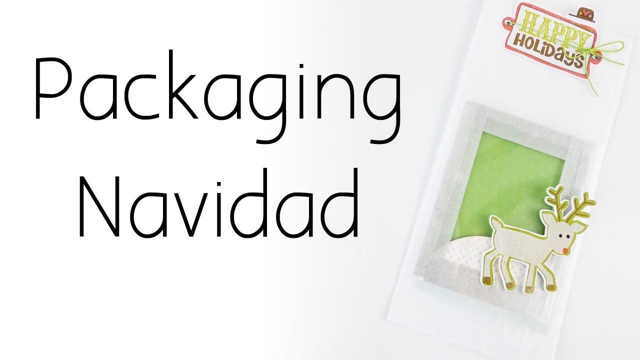 Packaging navidad | Bolsa decorada Navidad 2016