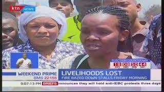 Gikomba traders rebuild stalls, Livelihoods lost