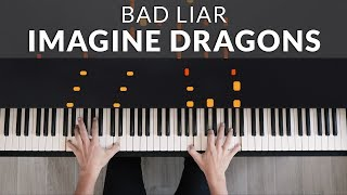 Imagine Dragons   Bad Liar | Tutorial Of My Piano Cover