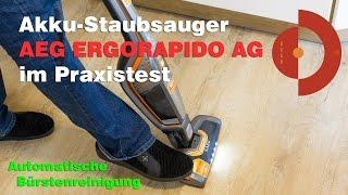 Praxistest Akku-Staubsauger AEG Ergorapido 3013 / AG 18PLUS