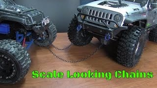 """How To Make Basic """"Scale"""" RC Chains For Your Trail Truck"""