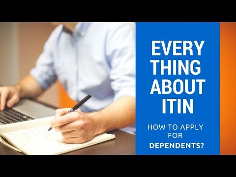 ALL ABOUT ITIN - FORM W7 (2018) - YouTube