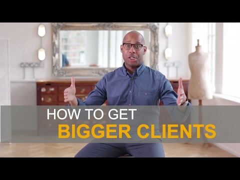How to get bigger clients? - Production Company Advice