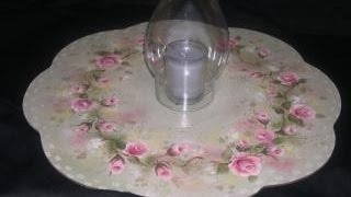 Roses Lazy Susan Tole And Decorative Painting By Patricia Rawlinson