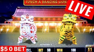 $10000 High Limit Slot Play In Las Vegas W/MGSLOTS21 Live Stream Part 1