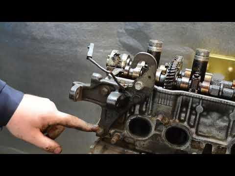 Разбор двигателя 4S