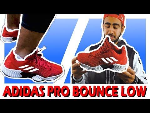 902b5ac17 Product Test Adidas Pro Bounce 2018 Low 27 09 2018 - Basket World ...