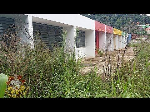 Abandono e Descaso vai consumindo aos poucos a Creche da Vila do Sapo em São Lourenço da Serra