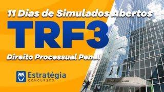 Simulado TRF 3: Direito Processual Penal - Correção