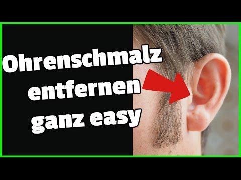 Ohrenschmalz entfernen ganz easy!