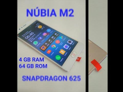 NUBIA M2 UNBOXING PT-BR!!!!