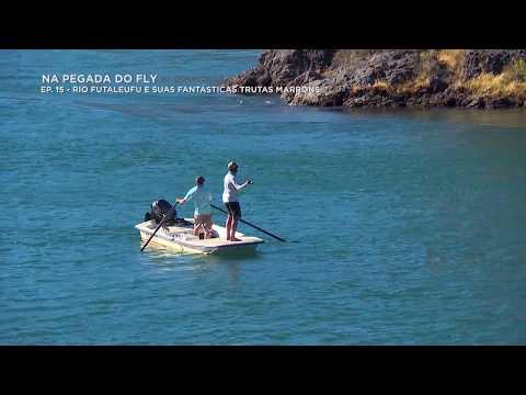 Essa é a pegada das MARRONS do rio Futaleufu!