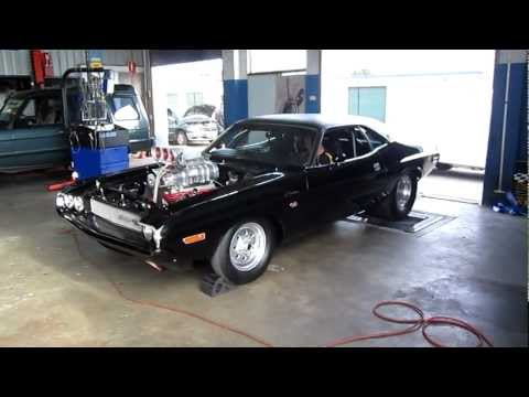 1600HP!!! Dodge Challenger Dyno Run [Australia]