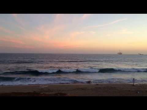 God Bless the U.S.A. (Flag at sunset) Huntington Beach