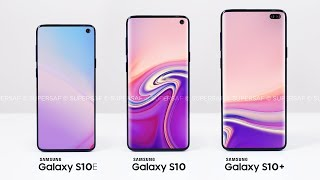 All 3 NEW Samsung Galaxy S10's Revealed!
