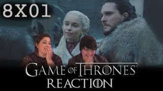 Game of Thrones 8X01 WINTERFELL reaction!!